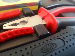 Famex Werkzeugkoffer 145-FX-55 Kombizange