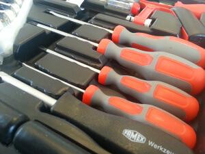Famex Werkzeugkoffer 145-FX-55 Schraubendreher