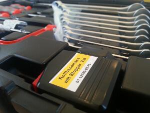 Famex Werkzeugkoffer 145-FX-55 mit Maßband