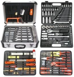 amex 207-teiliger Mechaniker-Werkzeugkoffer Komplettset mit Steckschlüsselsatz