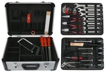 Famex 729-19 Werkzeugkoffer Komplettset Top Qualität mit 66-teiligem Steckschlüsselsatz - 4