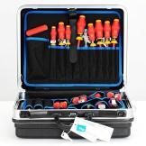 KNIPEX Werkzeugkoffer Basic, bestückt, 00 21 05 HLS - 1